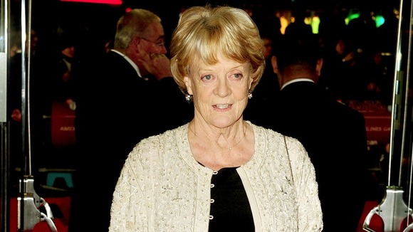 Dame Maggie Smith at a film screening in London