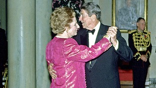 Ronald Reagan enjoyed a good relationship with Margaret Thatcher