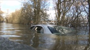 Exeter road named as one of worst for stranding cars in floods