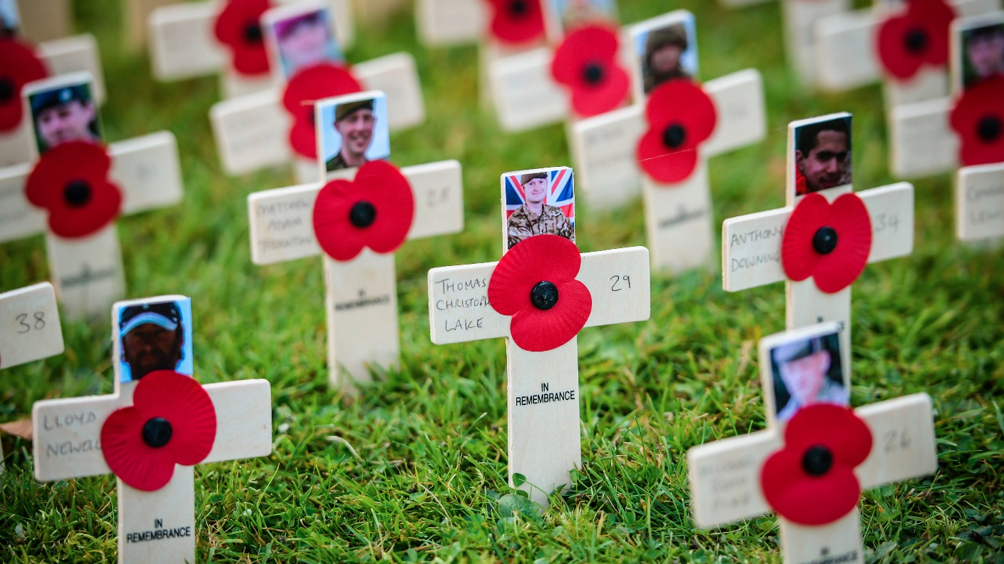 remembrance services in north east and north yorkshire where to