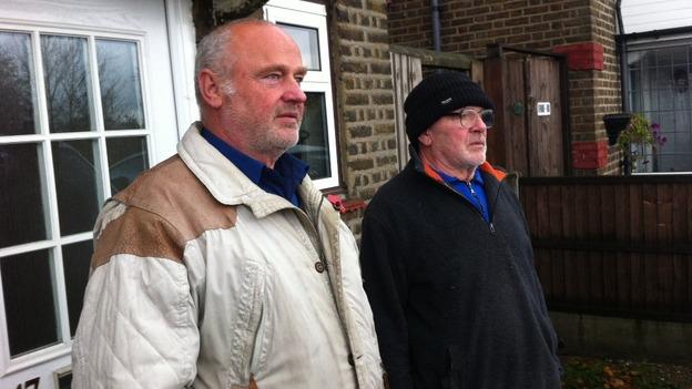 Romford eviction battle - ITV News