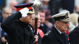 Prince Harry to lead nation in remembrance on Armistice Day