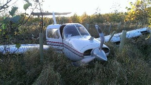 Plane crashes in North Yorkshire
