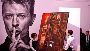 David Bowie's art collection sold for more than £24 million at auction