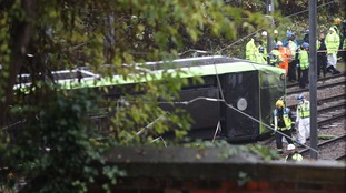 Police investigate Facebook posts over Croydon Tram crash.