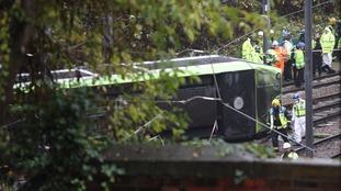 Police investigate Facebook posts over Croydon Tram crash.