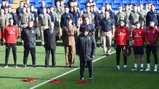 Coleman defends Wales' decision not to wear poppy armbands