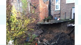 Homes evacuated after 60 foot sinkhole appears in Ripon