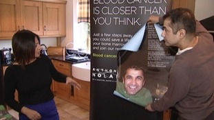 Leukaemia sufferer takes stem cell campaign on the road