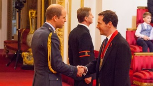 Former chancellor George Osborne becomes a member of the Order of the Companions of Honour