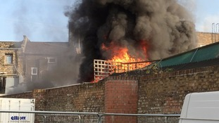 Four fire engines and 21 firefighters and officers rush to blaze at Kentish Town spa and sauna