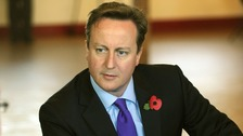Prime Minister David Cameron.