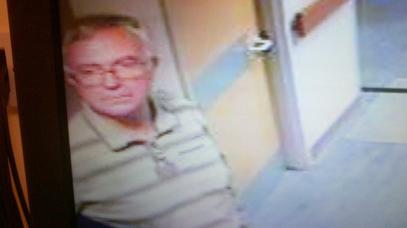 Officers have released CCTV images of Mr Roskell leaving the hospital in the hope it will jog someone's memory.