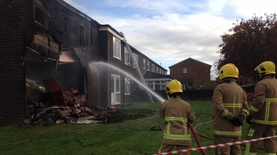 Fire crews continue to tackle blaze in Penrith