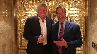 Nigel Farage in Trump Tower