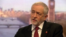 Jeremy Corbyn was scathing of Donald Trump's treatment of Mexico