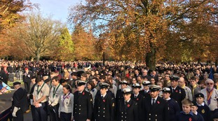 The Midlands Remembers - pictures from Remembrance Services