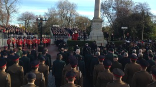 Remembrance services: War dead remembered