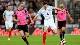 John Stones for England vs. Scotland