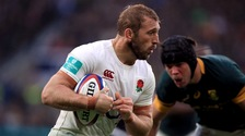 Chris Robshaw for England against South Africa