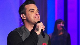 Robbie Williams releases a new album, Take the Crown, on Monday.
