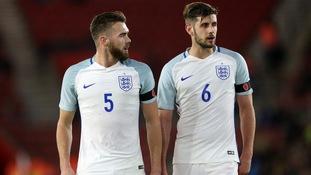 England under-21s Callum Chambers and Jack Stephens