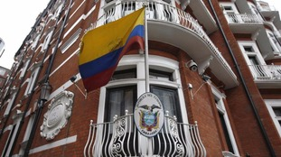 Julian Assange has lived in London's Ecuadorian embassy for four years.