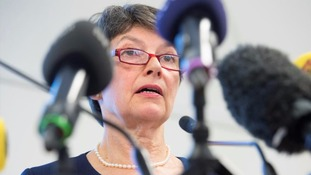 Swedish Chief-Prosecutor Marianne Ny speaks during a press conference earlier this year.