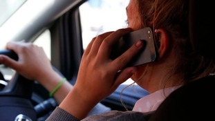 Crackdown on drivers using mobiles