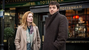 JK Rowling's detective Cormoran Strike spotted in London as filming begins for new TV series