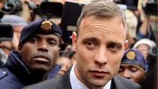 Oscar Pistorius, seen leaving court in June.