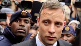 Oscar Pistorius, seen leaving court in June.