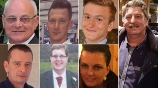 Victims of the Croydon tram crash named