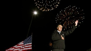 US Republican presidential nominee Mitt Romney attends a campaign rally in Morrisville, Pennsylvania