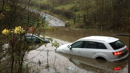 Flooding hits the North West