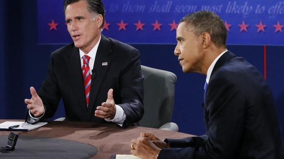 Republican presidential nominee Romney and President Obama discussed China during their final debate.