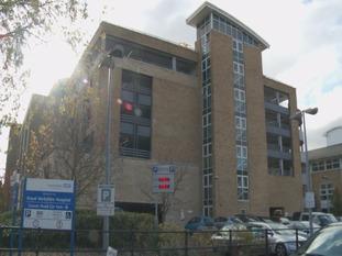 The Royal Berkshire Hospital car park