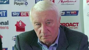 Chesterfield chairman Dave Allen resigns