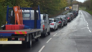 Motorists left fuming by Plympton road works