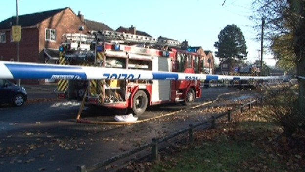 One woman died in the house fire and three others are in hospital