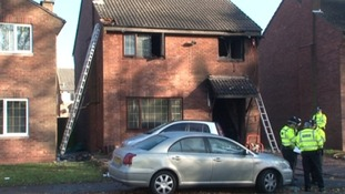 Investigations into the cause of the fire are taking place