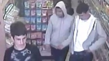 Teens stab shopkeeper in face when refused cigarettes.
