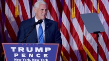 Mike Pence is a pro-life campaigner.