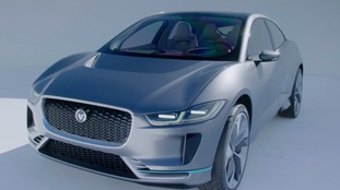 Jaguar Land Rover unveils its first electric car