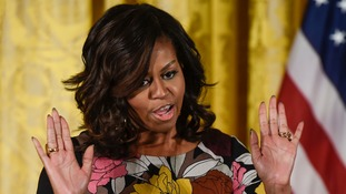 Outrage over Michelle Obama 'Ape in heels' Facebook post