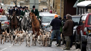 The Heythrop hunt, pictured in 2010.