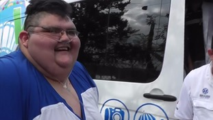 Mexico obese man