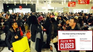 Petition to ban shops opening on Boxing Day reaches over 200,000 signatures