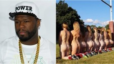 50 Cent was impressed by the pictures.