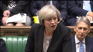 Jeremy Corbyn accuses Theresa May of overseeing Brexit 'shambles' at PMQs